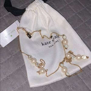 "Kate Spade 32"" pearl delight necklace"